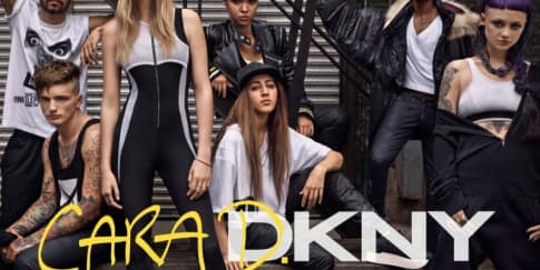 Cara Delevingne Desain Koleksi DKNY