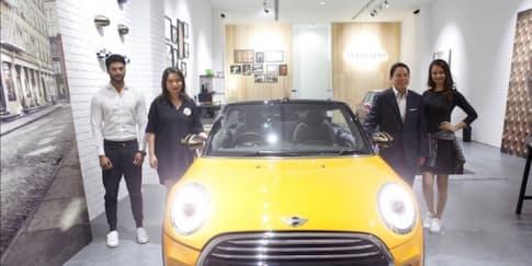 Gerai Baru Mini Cooper Telah Hadir Di Senayan City
