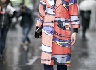 5 Tampilan Coat Terbaik dari Jalanan Milan Fashion Week