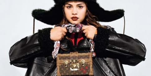 Selena Gomez Untuk Louis Vuitton