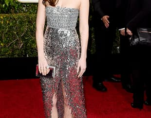 We love: Dakota Johnson Red Carpet Golden Globes 2015
