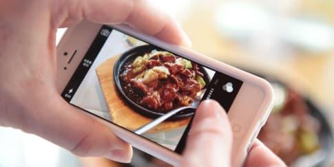 4 Trik Dapatkan Foto Makanan Cantik