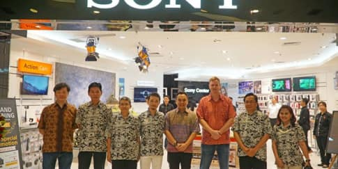 Gerai Sony Center Terbaru di Grand Indonesia