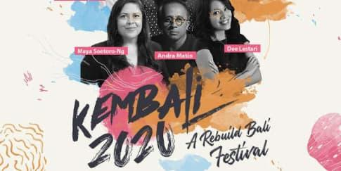 Kembali 2020 , A Rebuild Bali Festival