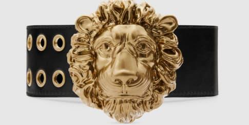 Wajib Punya: Ikat Pinggang Dengan Kepala Singa Gucci
