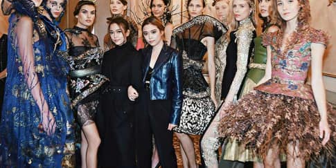 Peragaan Busana Maquinn Couture Di Milan Fashion Week