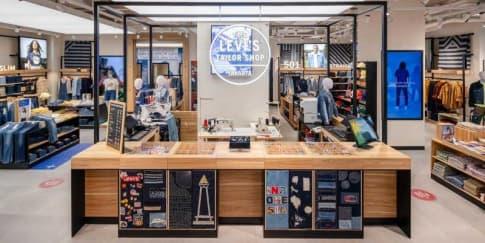 Levi's Buka Store Retail Terbesar Dengan Konsep Baru