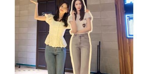 10 Inspirasi Gaya Modis Yoona SNSD Untuk Dicontek Saat WFH