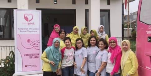 Mengenal Gerakan 1.000 USG Payudara Gratis Oleh Lovepink