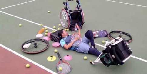 Ndaru Patma, Atlet Para-Tenis Yang Belajar Mencintai Diri