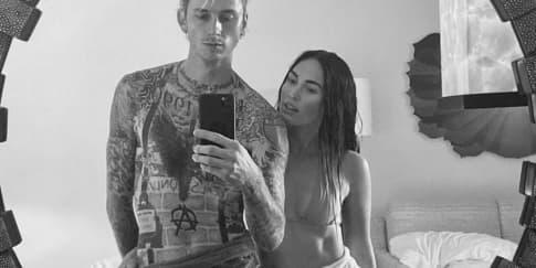 Machine Gun Kelly Tak Ragu Menikah Dengan Megan Fox