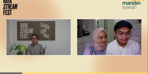 Kemeriahan Presentasi Fashion Online Di Raya Stream Fest