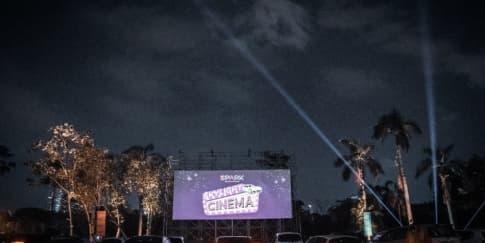 Skylight Cinema: Keseruan Cinema Drive-in Pertama Di Jakarta