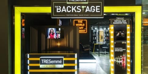 TRESemmé Hadirkan Salon Pop-Up Seru di Senayan City