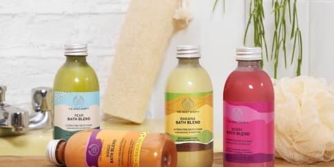 Bath Blend Unik Terbaru dari The Body Shop dengan Aroma Buah