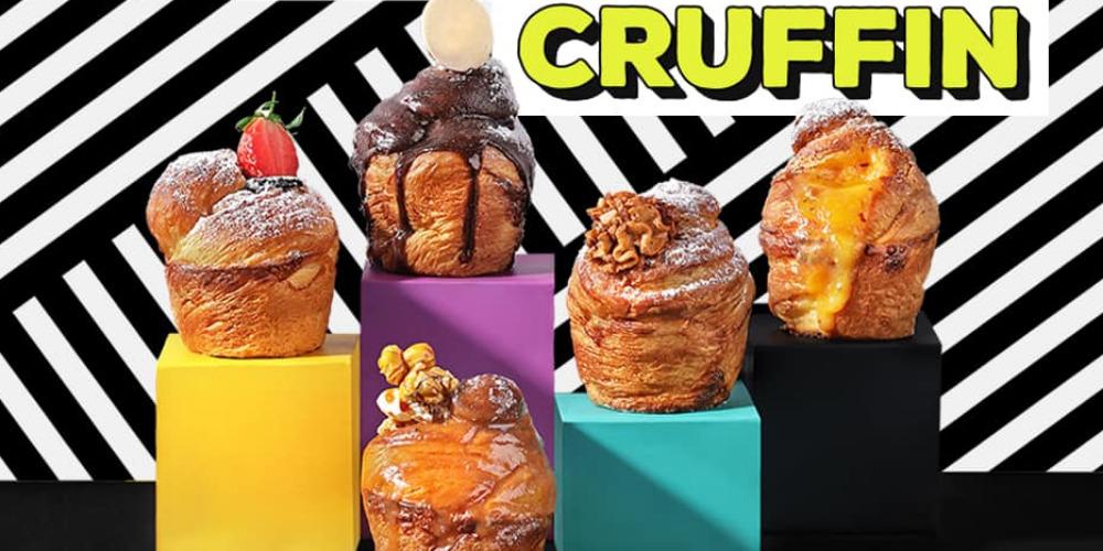 Cruffin: Perpaduan Croissant dan Muffin dari Bakerzin
