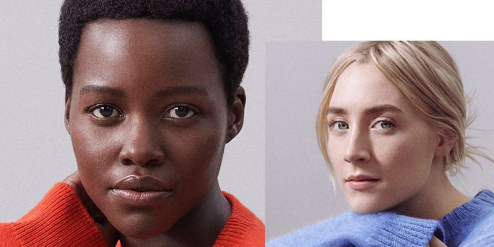 Lupita Nyong'o & Saoirse Ronan, Ikon Baru Calvin Klein