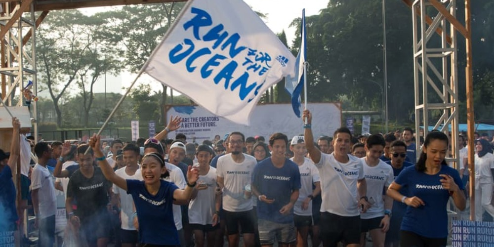 Run for the Oceans, Aksi Peduli Laut dan Sampah Plastik