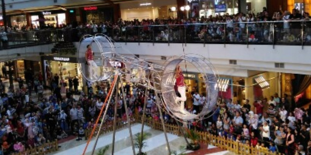 Serunya Wheel of Death dan Blocks Playground di PIM