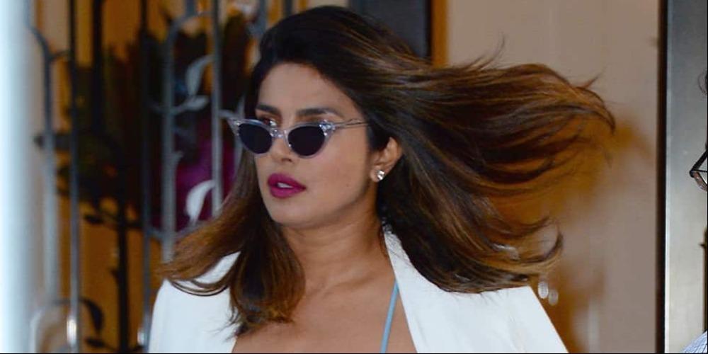 Spotted: Priyanka Chopra Mengenakan Bottega Veneta