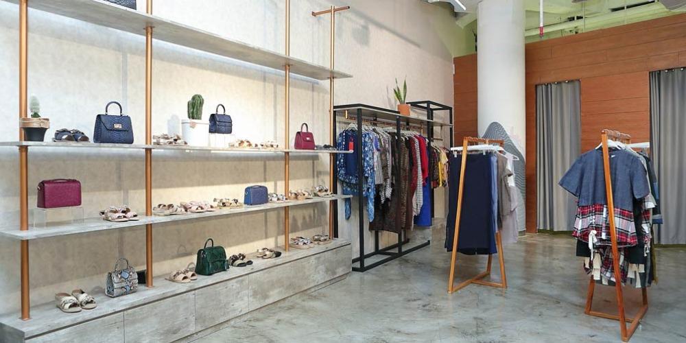 Wajah Baru Toko Fashionlink x #Blckvnue di Senayan City