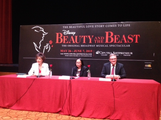 Beauty and the Beast Broadway Pentas di Indonesia!