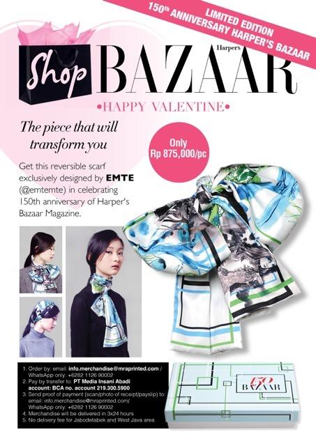 Limited Edition 150th Anniversary Harper's Bazaar
