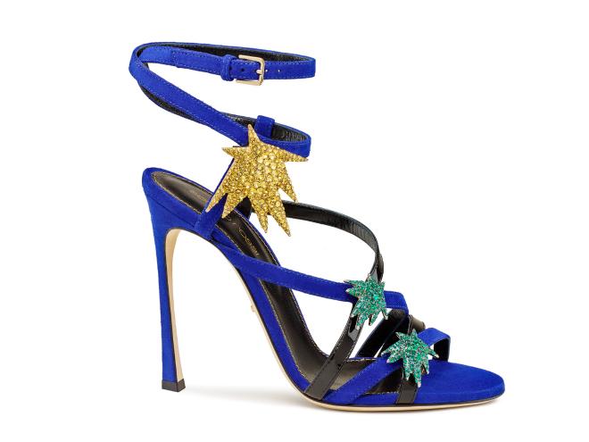 Sepatu Warna Cerah Sergio Rossi