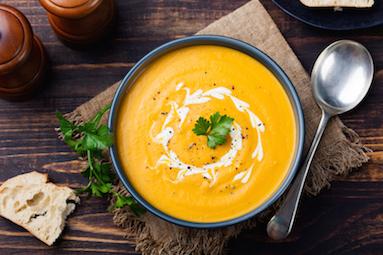Cara Membuat Sup Labu Sehat