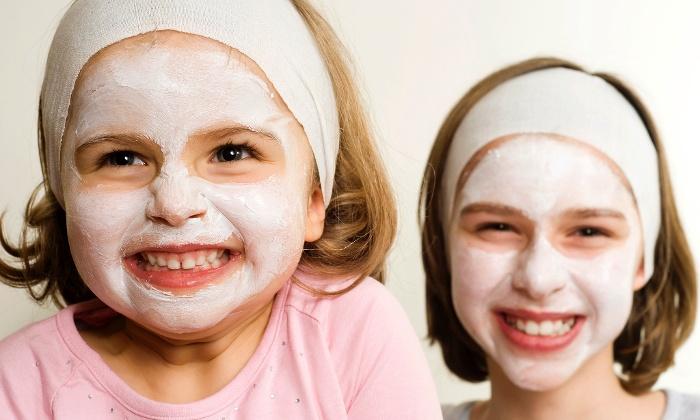 Facial untuk Si Kecil Sambil Belajar