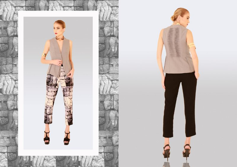Koleksi Nu by Nugroho Terinspirasi dari Candi Borobudur