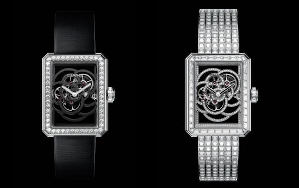 Jam Tangan Berbentuk Bunga Kamelia dari Chanel