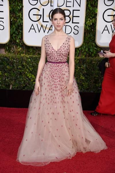 We love: Anna Kendrick Red Carpet Golden Globes 2015