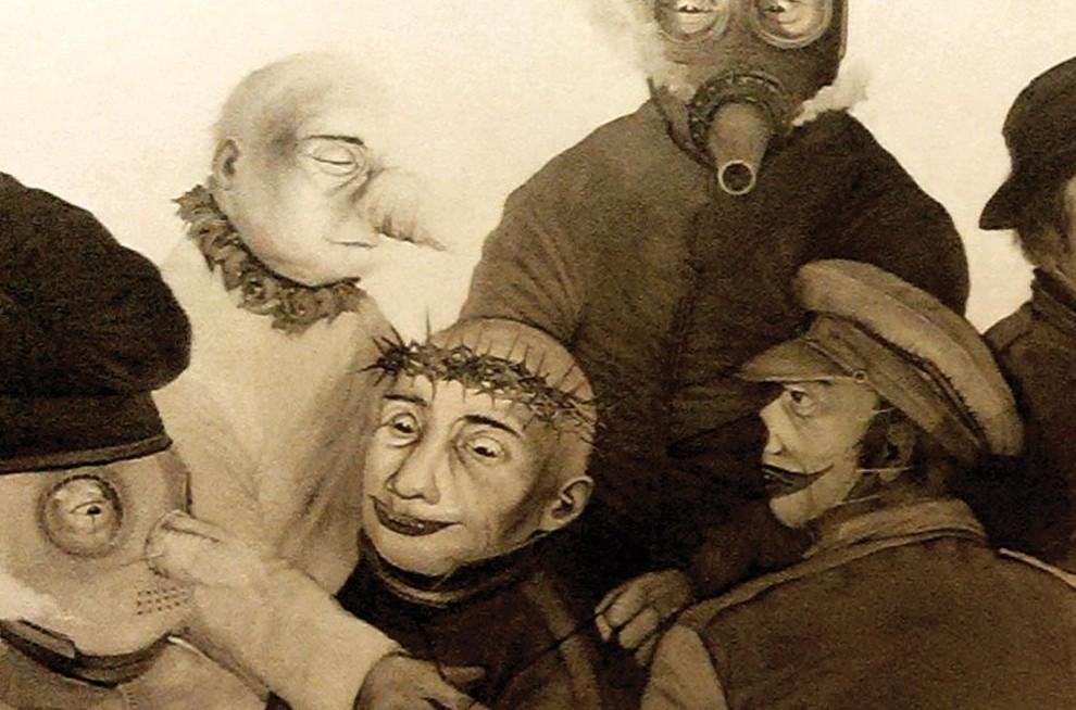 Memaknai Lukisan Kontemporer Adi Kaniko