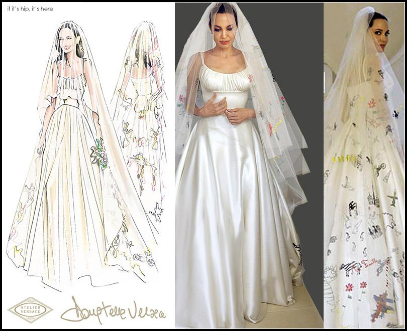 Ini Dia Gaun Pernikahan Ikonik Angelina Jolie
