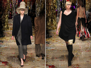 Gwendoline Christie Di Panggung Runway Vivienne Westwood
