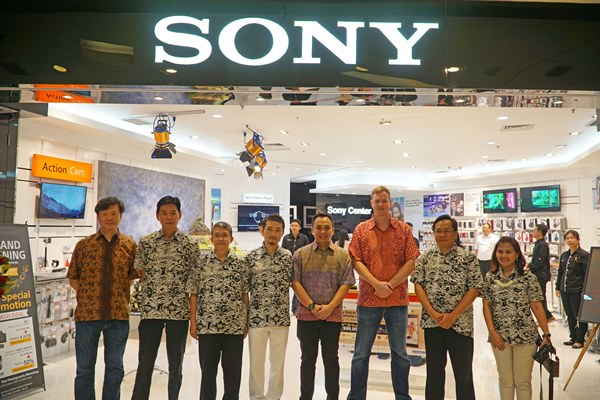 Gerai Sony Center Terbaru di Grand Indonesia