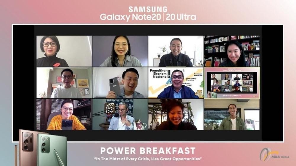 Power Breakfast: Cerita Para Entrepreneur Di Tengah Pandemi