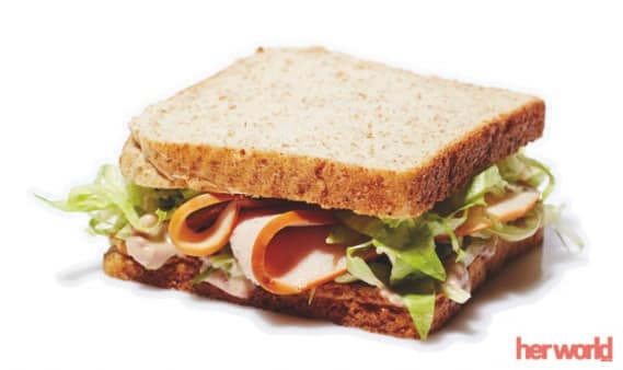 Mudahnya Membuat Turkey Cranberry Wholemeal Sandwich