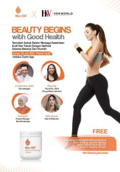 Beauty Begins with Good Health with Bio-Oil and Her World