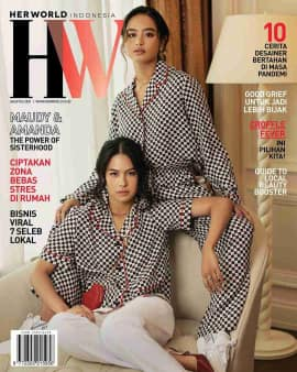 Maudy Ayunda dan Amanda Khairunnisa Cover Agustus 2021