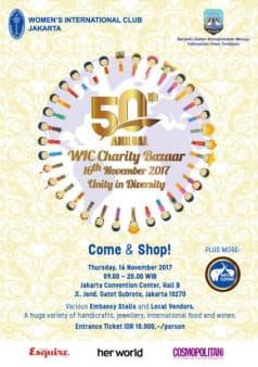 The 50th Annual WIC Charity  Bazaar