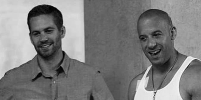 Kilas Balik Persahabatan Paul Walker dan Vin Diesel