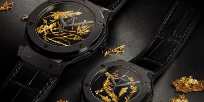 Wajib Punya: Jam Tangan Classic Fusion Gold Crystal Hublot