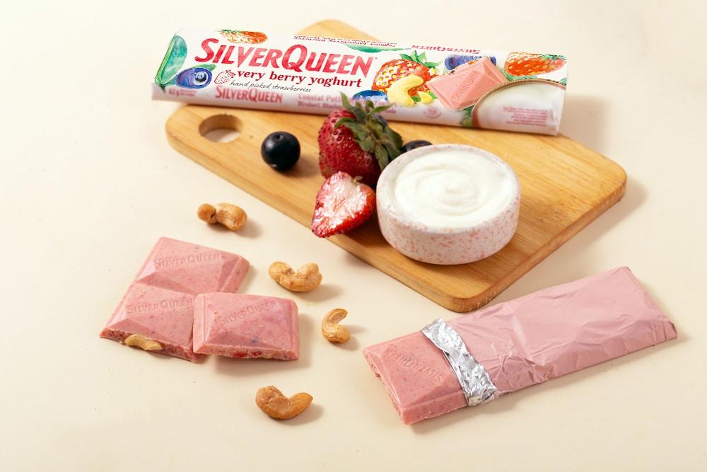 SilverQueen Luncurkan Rasa Baru 'Very Berry Yoghurt'
