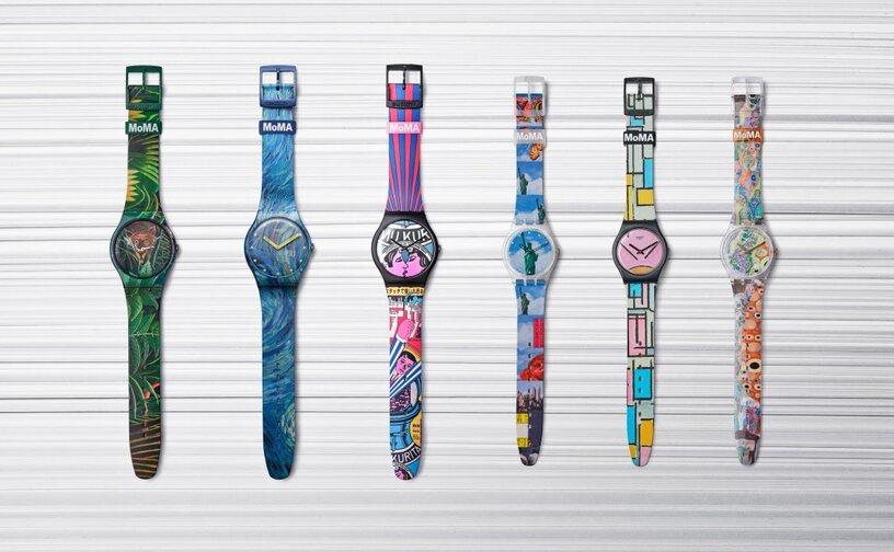 Swatch Luncurkan Edisi Spesial Kolaborasi bersama MoMA