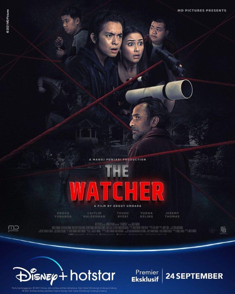 Tantangan Angga Yunanda dan Caitlin Halderman 'The Watcher'