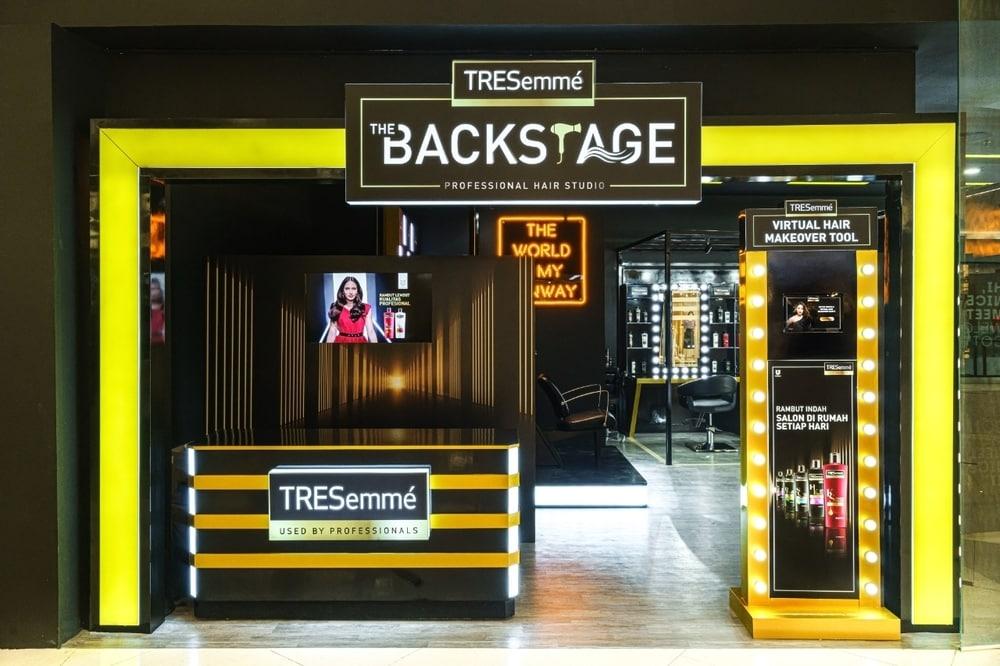 TRESemmé Hadirkan Salon Pop-Up Seru di Senayan City