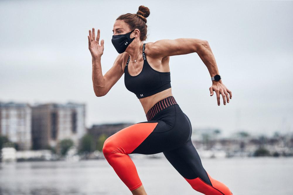 Under Armour Hadirkan Masker Khusus Untuk Olahraga
