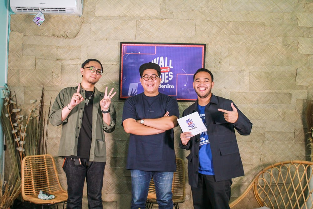 Kolaborasi Darahkubiru x TEAMUP: Wall Online Fades 2021